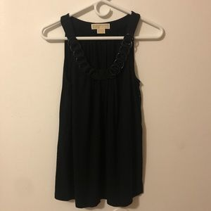 Michael Kors Black Dressy Tank